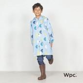 日本WPC 悠遊鳥L 空氣感兒童雨衣/防水外套 附收納袋(120-140cm)