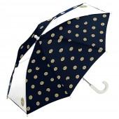 日本 Wpc. wkn-w058 餅乾世界 兒童雨傘 透明視窗 安全開關傘